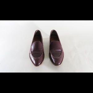 Everlane modern loafer burgandy 7.5